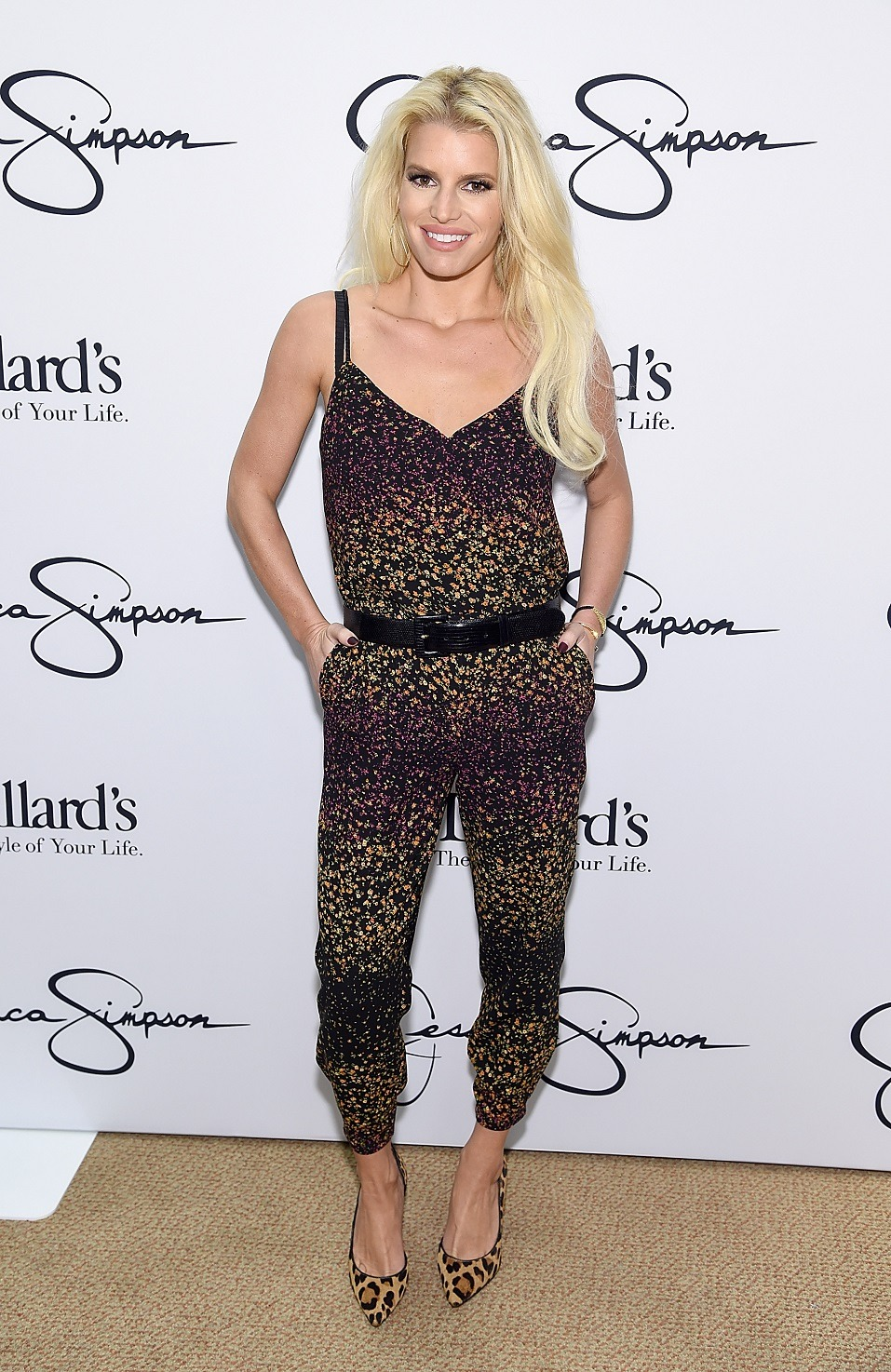 Jessica Simpson wearing a piece from her Jessica Simpson Collection