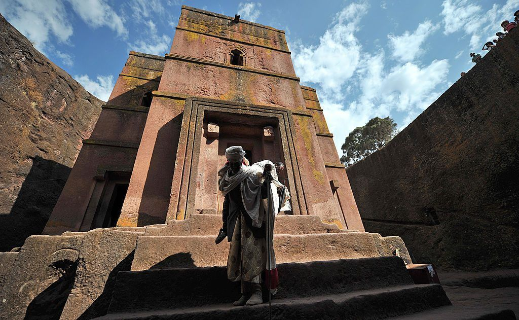 Ethiopian rock church
