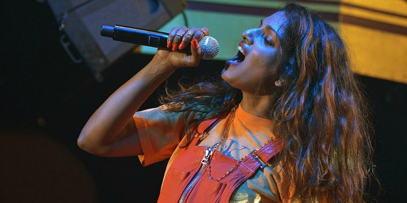 M.I.A. at Vulture Festival Presents MIA + Solange at Webster Hall