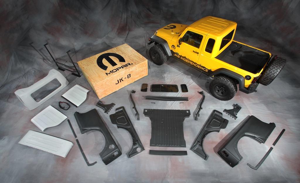 Mopar Jeep JK-8 Pickup Conversion kit