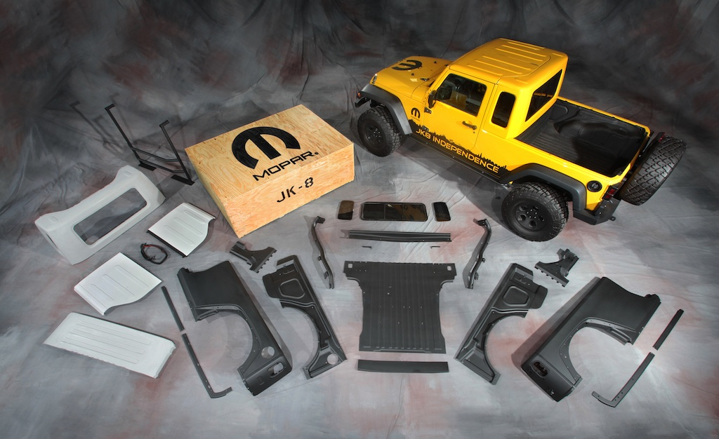 Mopar Jeep JK-8 Pickup Conversion kit