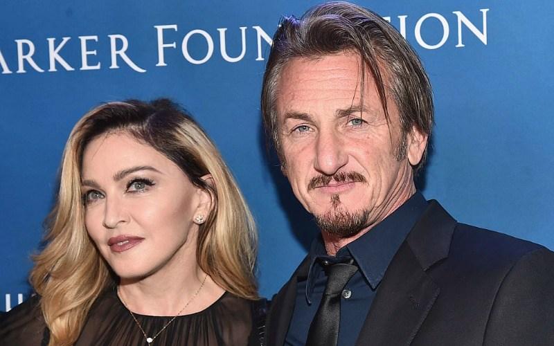 Madonna and Sean Penn