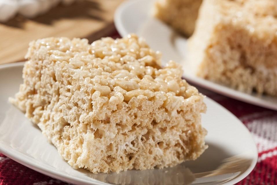 The classic Rice Krispies Treats