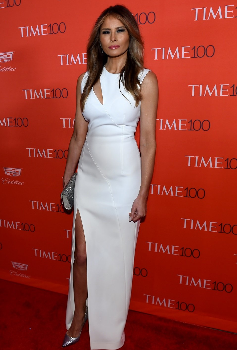 Melania Trump attends the Time 100 Gala celebrating the Time 100 issue of the Most Influential People