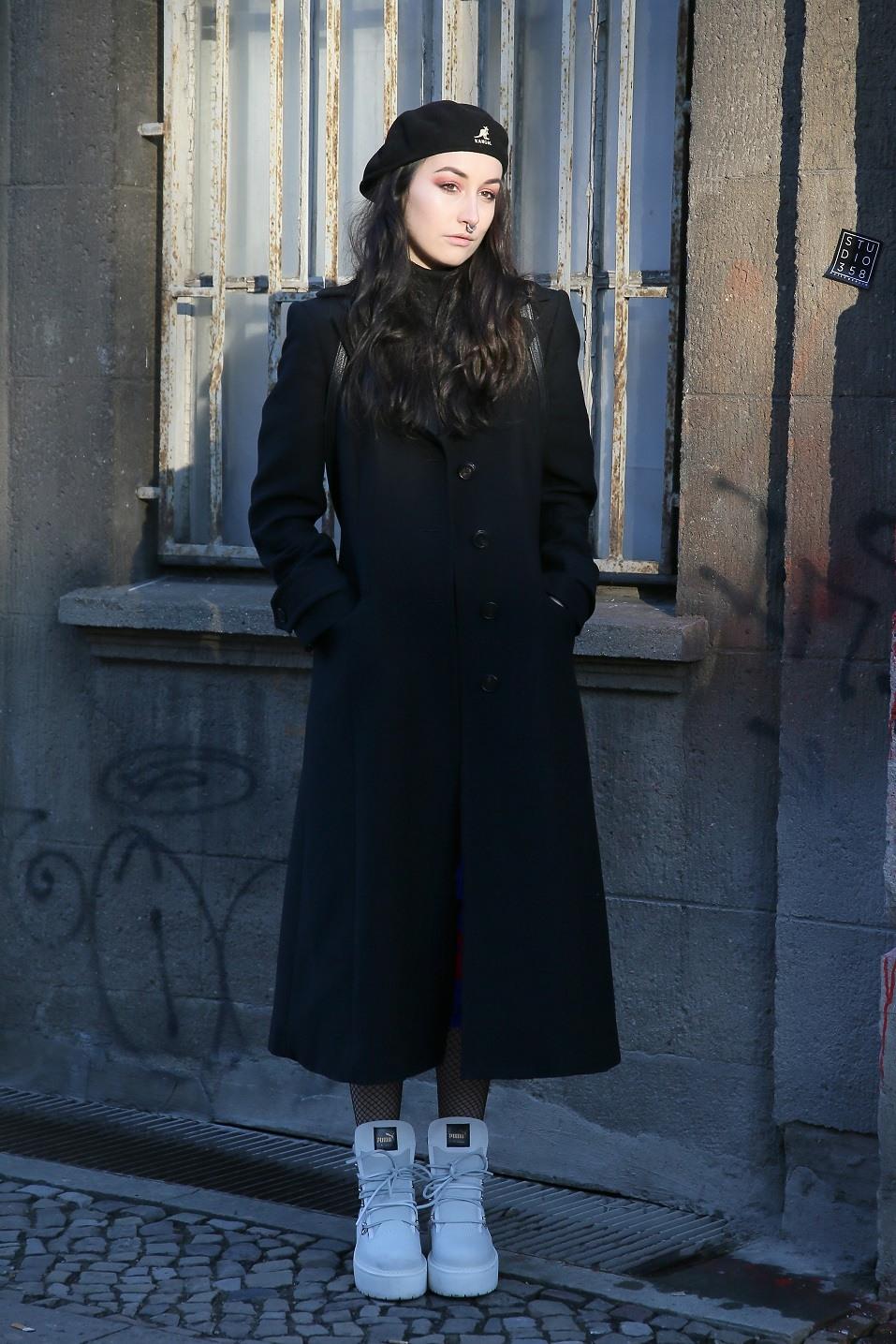 Masha Schubbach during the Mercedes-Benz Fashion Week Berlin