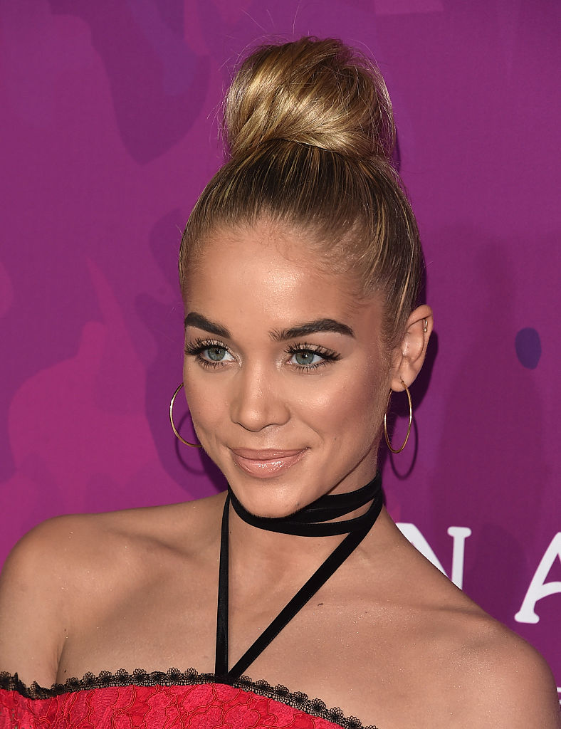 Model Jasmine Sanders attends the 2nd Annual StyleMaker Awards