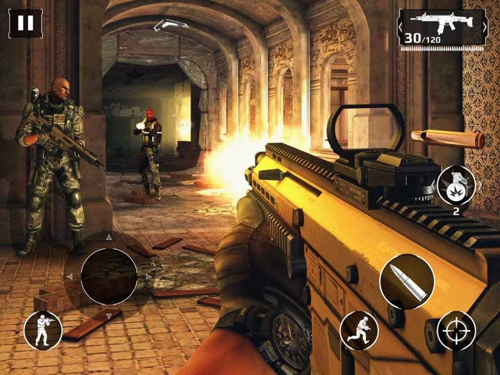 Screenshot of Modern Combat 5
