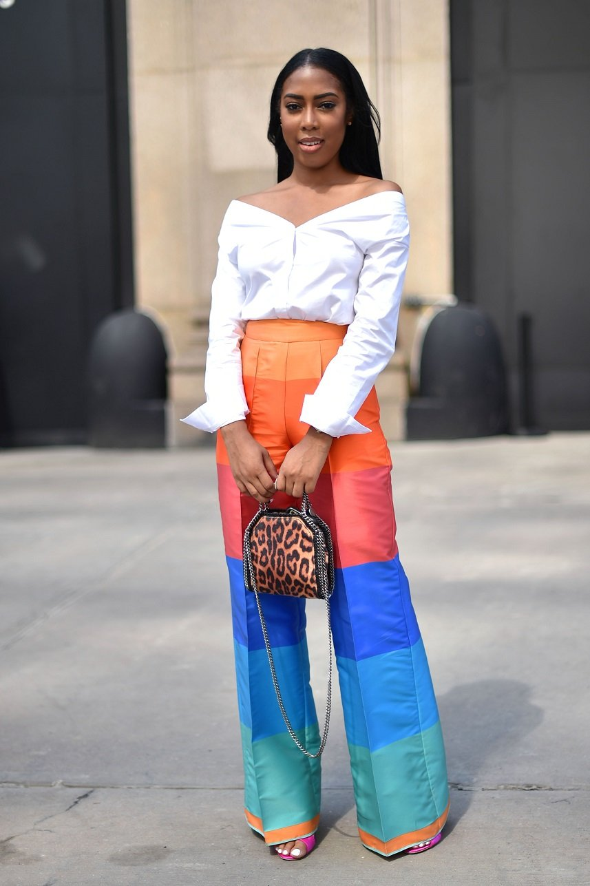A view of street style seen around the September 2016 New York Fashion Week