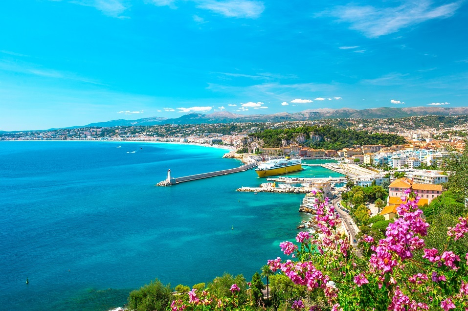 The Mediterranean Sea: French Riviera, France