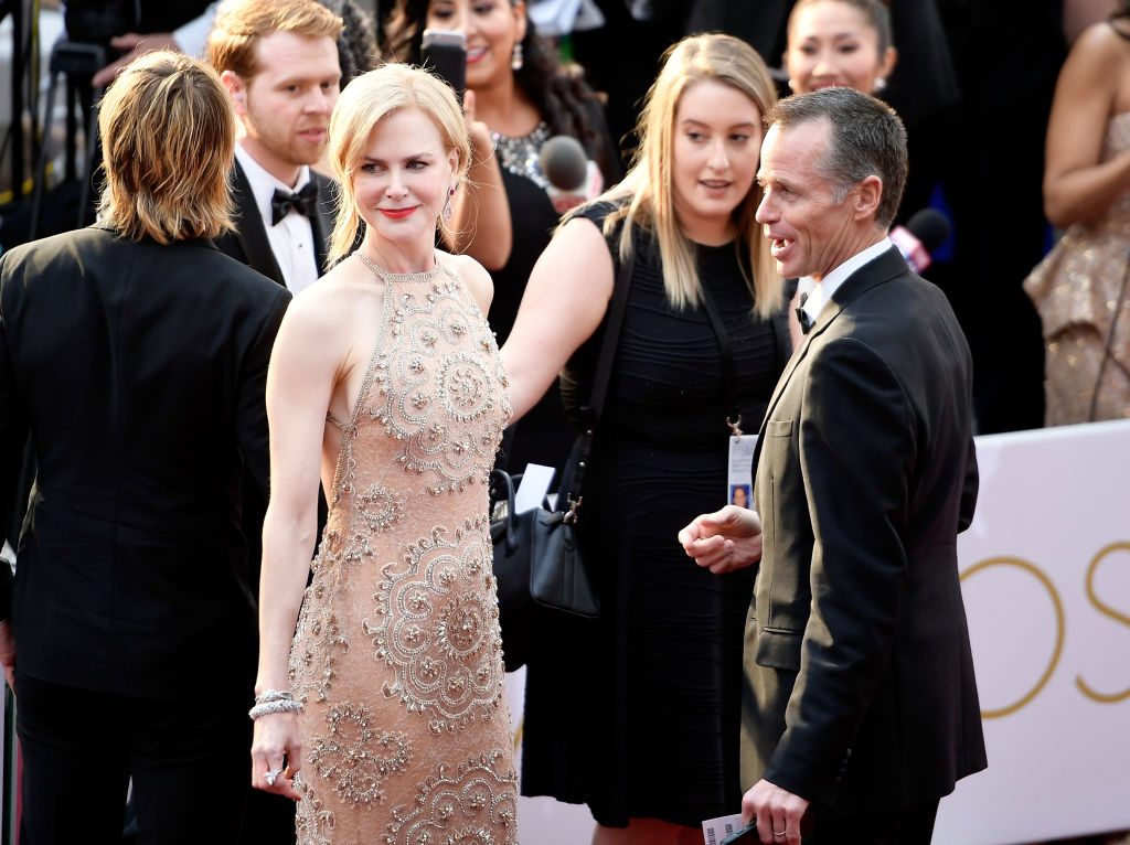 Nicole Kidman attends the 89th Annual Academy Awards at Hollywood & Highland Center