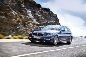 2017 BMW 5-Series Touring Revealed Ahead of Geneva Debut