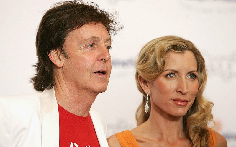 Sir Paul McCartney and wife Heather Mills McCartney