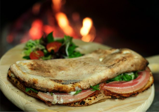 San Matteo Pizza dish