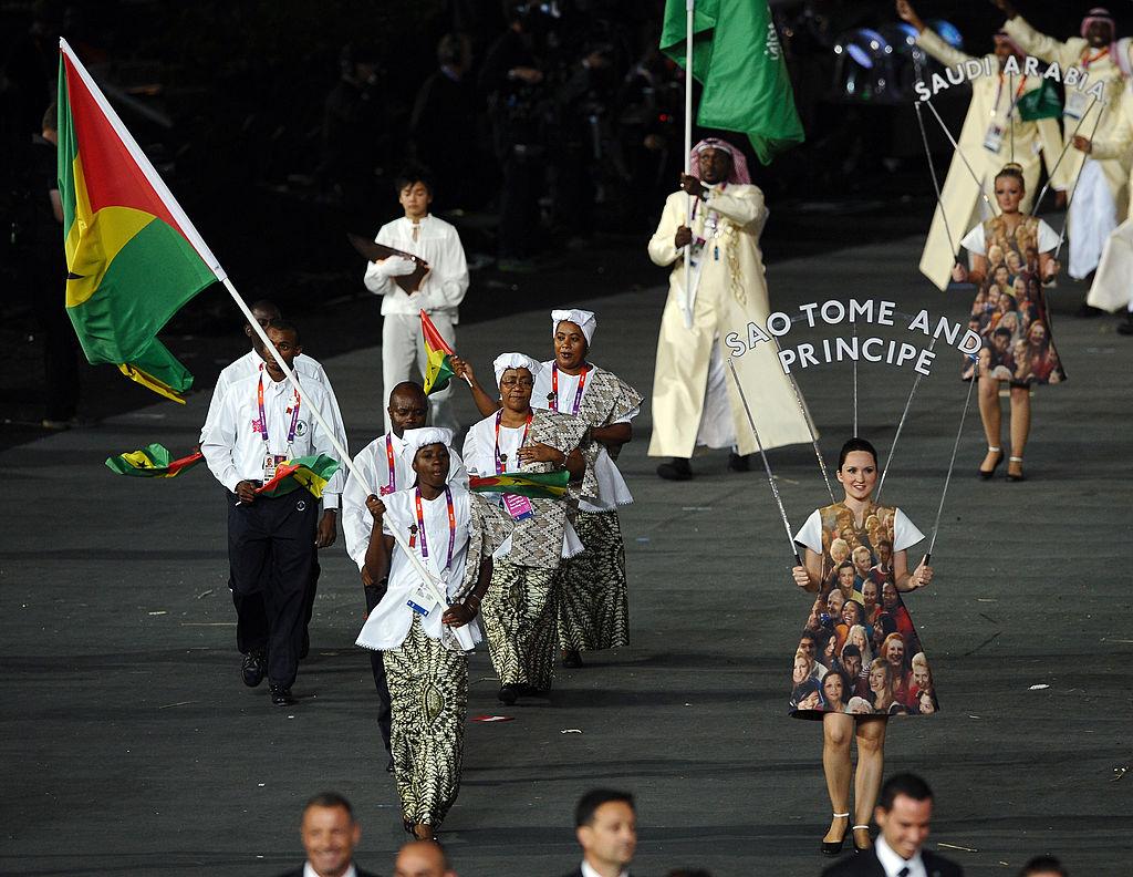 The Sao Tome and Principe athletics team