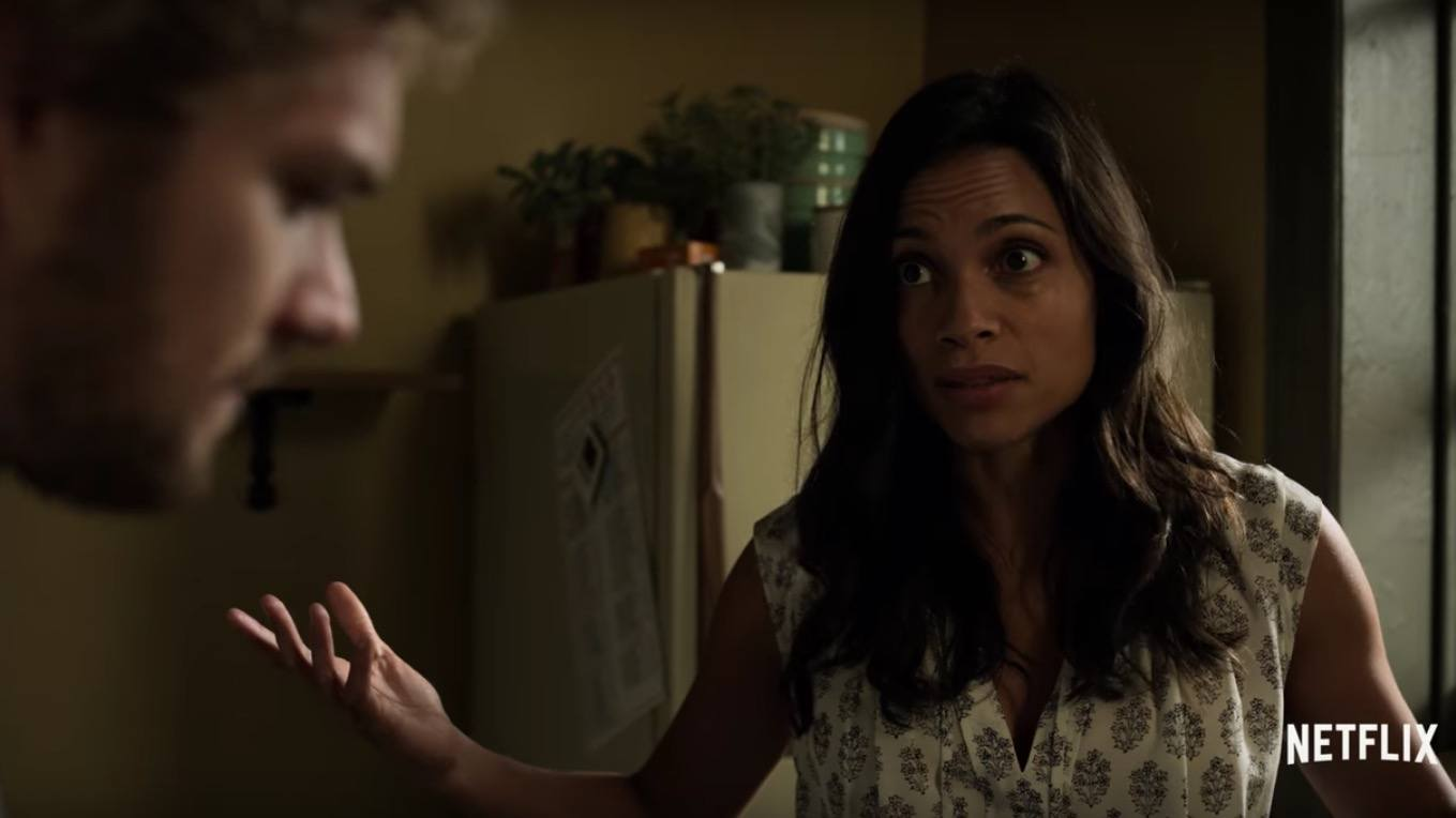 Rosario Dawson as Claire Temple in Iron FIst