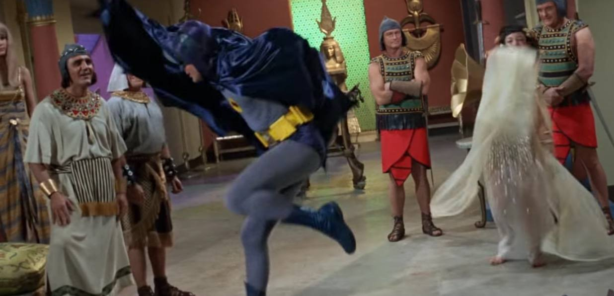 Adam West's Batman, as seen in The Lego Batman Movie