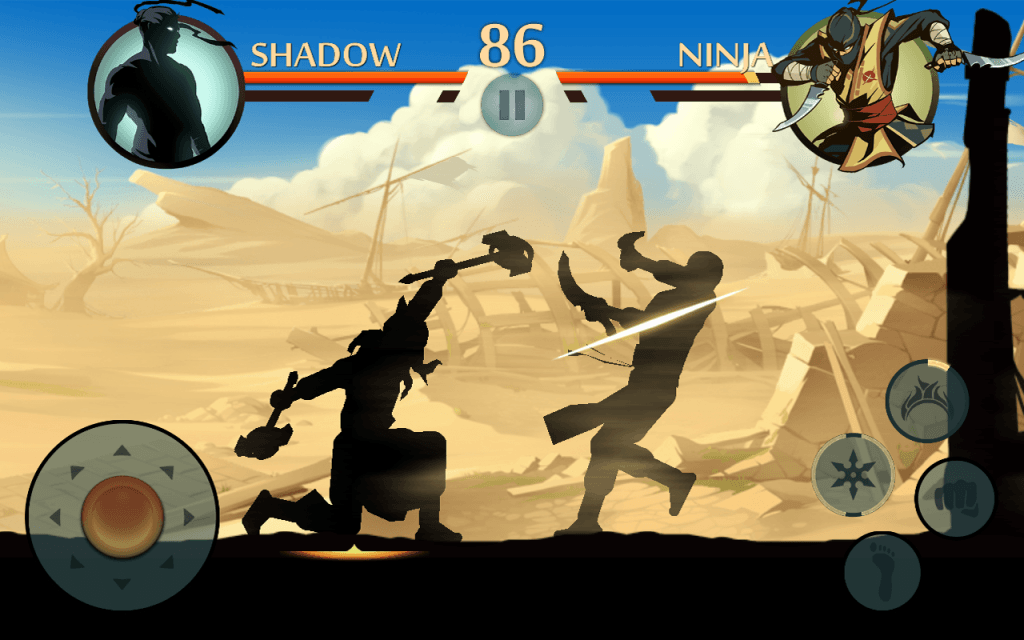 Bring out your inner ninja in Shadow Fight 2