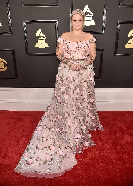 Singer Elle King attends The 59th GRAMMY Awards