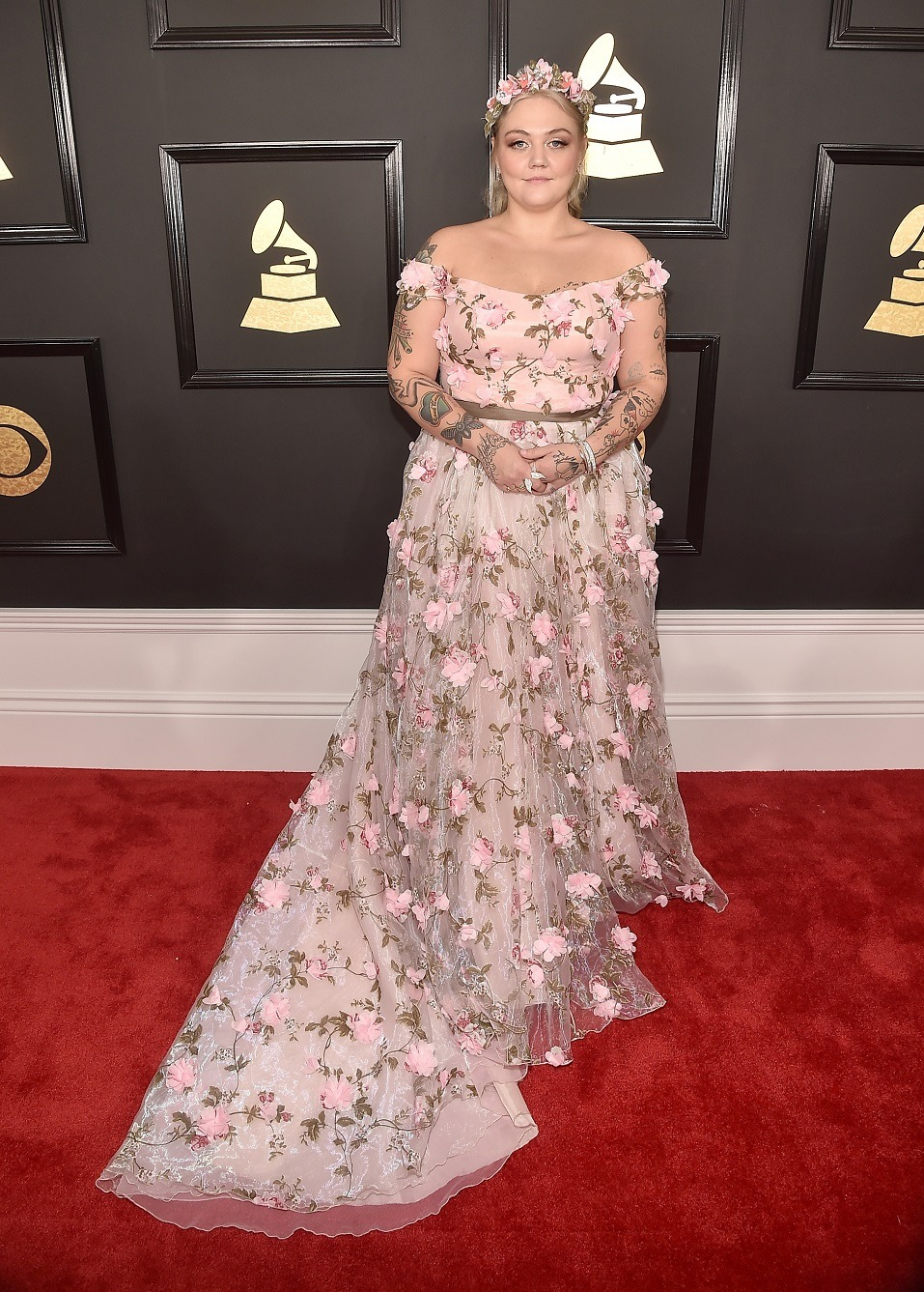 Singer Elle King attends The 59th GRAMMY Awards
