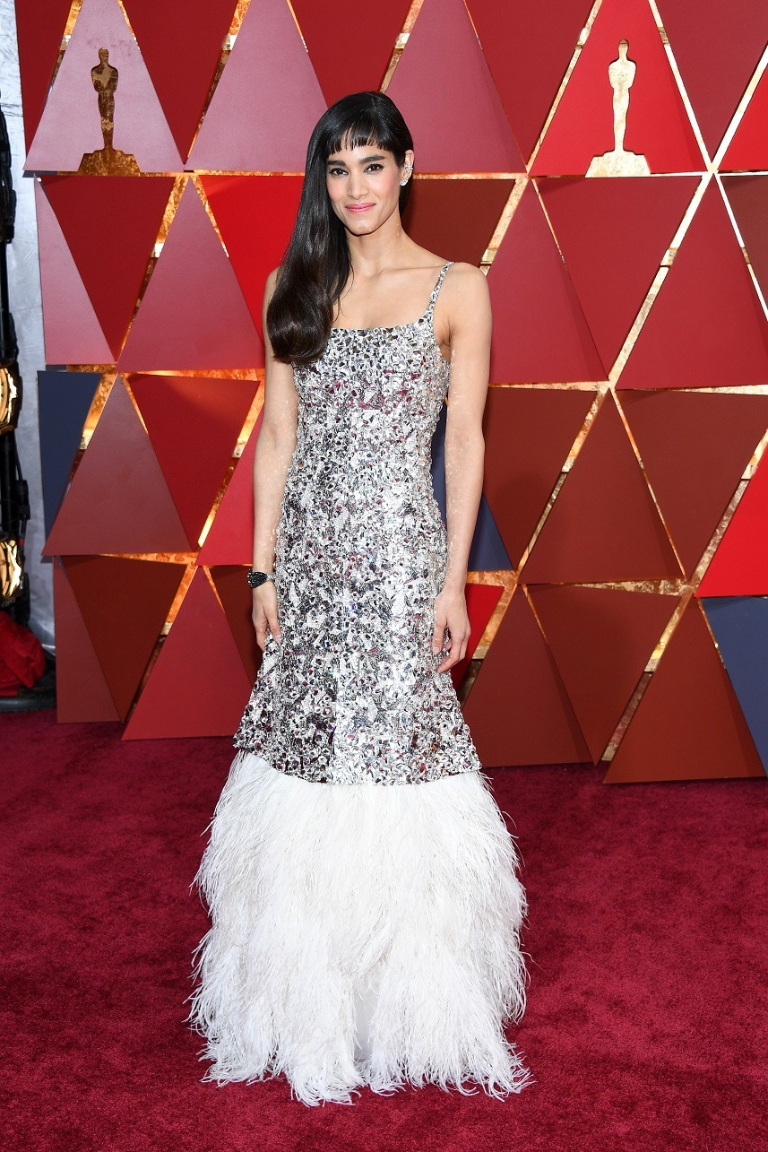 Sofia Boutella attends the 89th Annual Academy Awards
