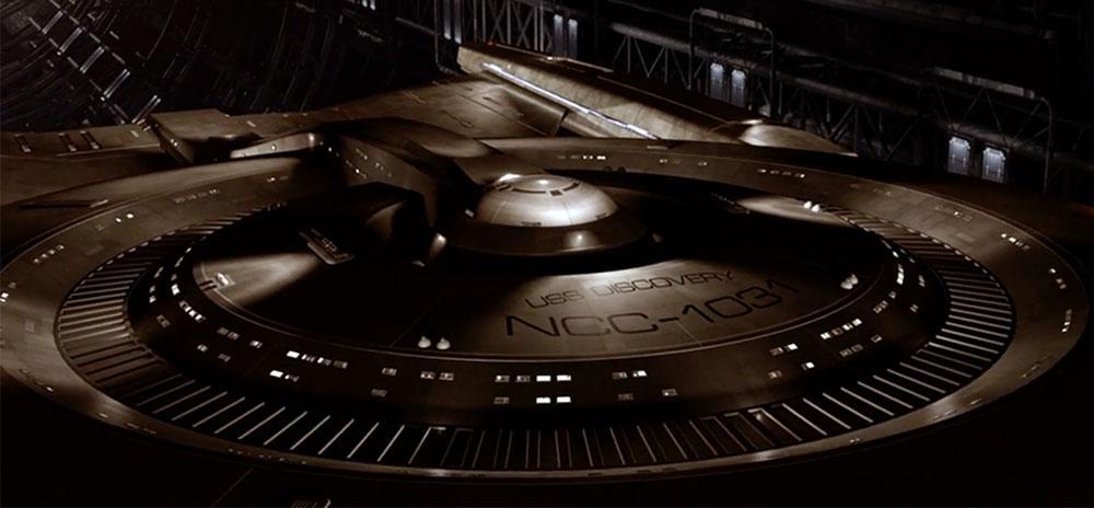Star Trek: Discovery ship