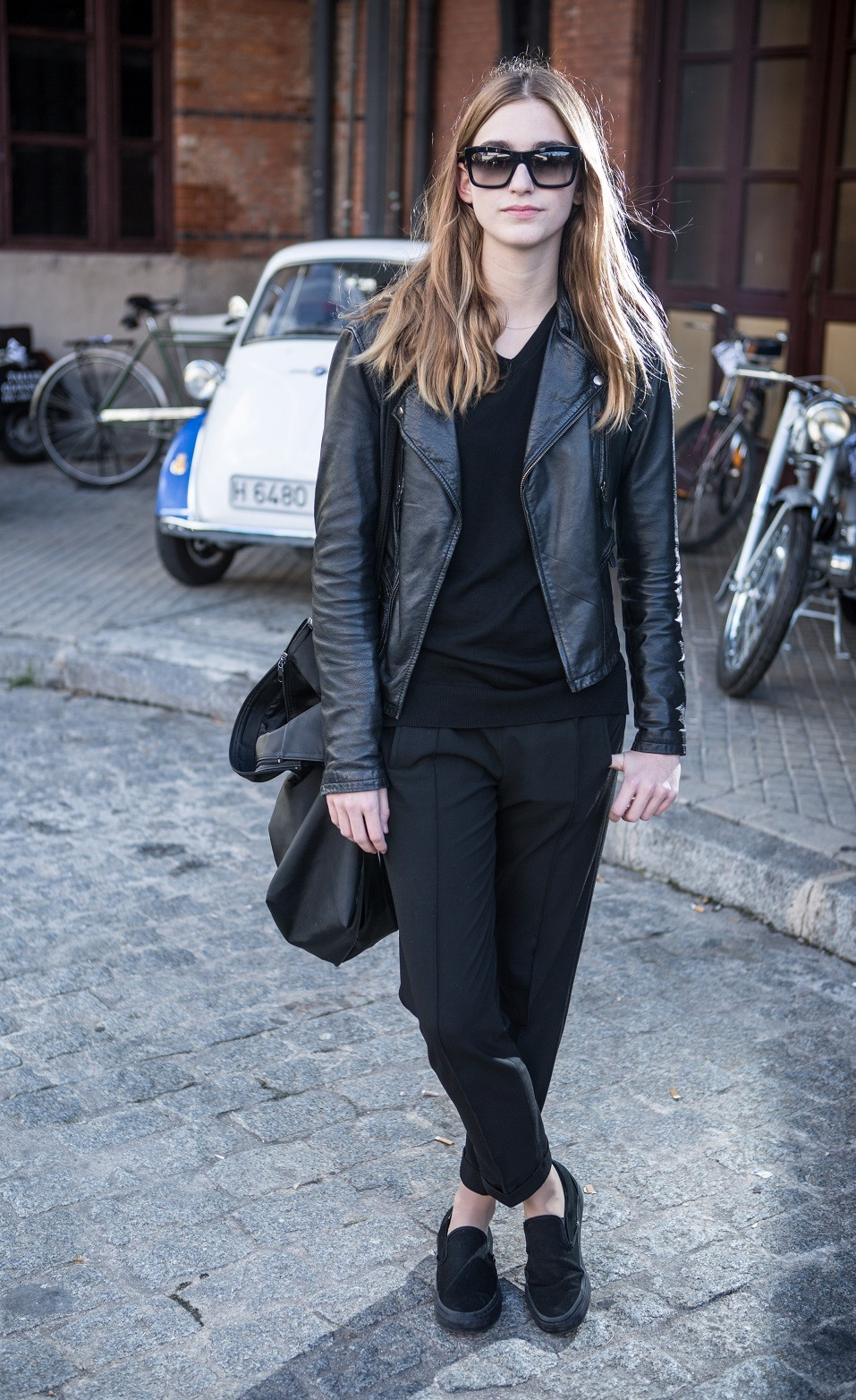 11 Non Boring Ways to Wear All Black, According to Street