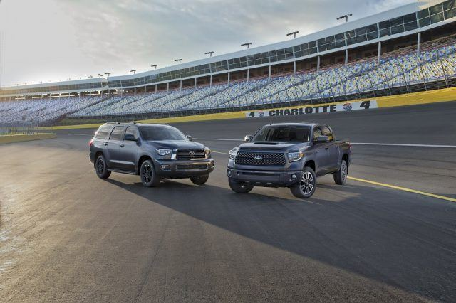 Toyota Sequoia and Tundra TRD Sport