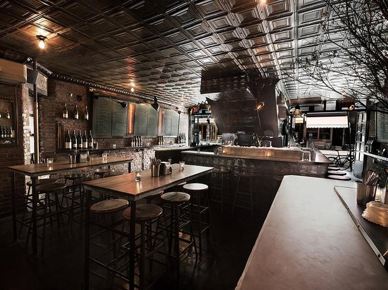 Ten Bells interior restaurant