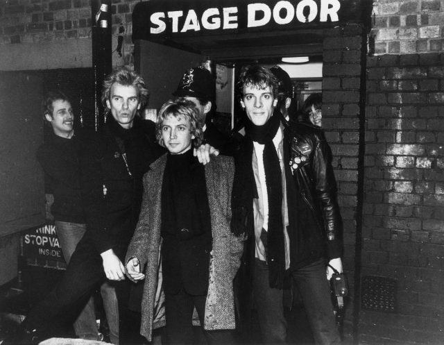 The pop group The Police