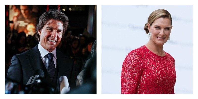 Tom Cruise and Brooke Shields