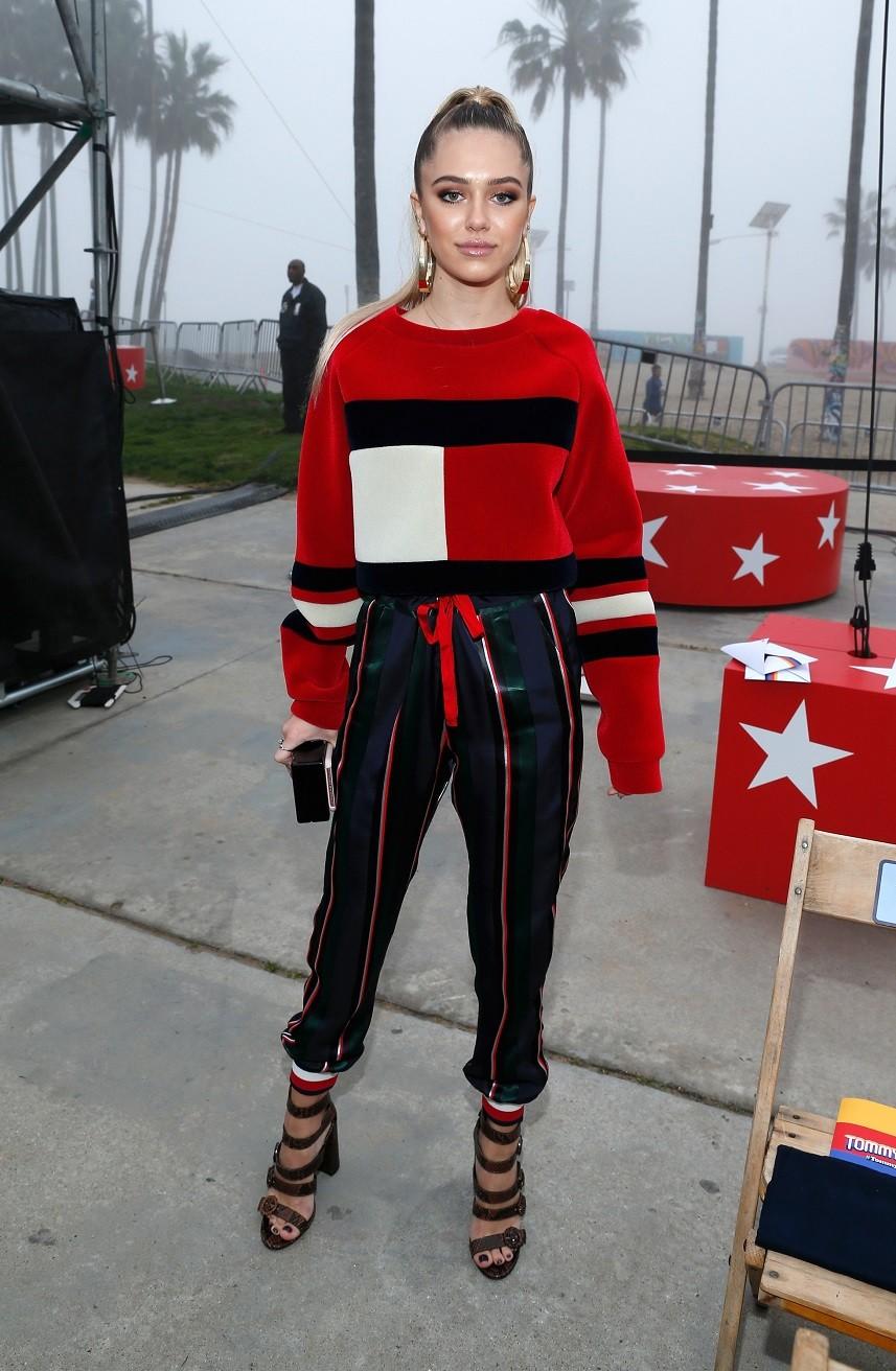 Model Delilah Hamlin attends the TommyLand Tommy Hilfiger Spring 2017 Fashion Show