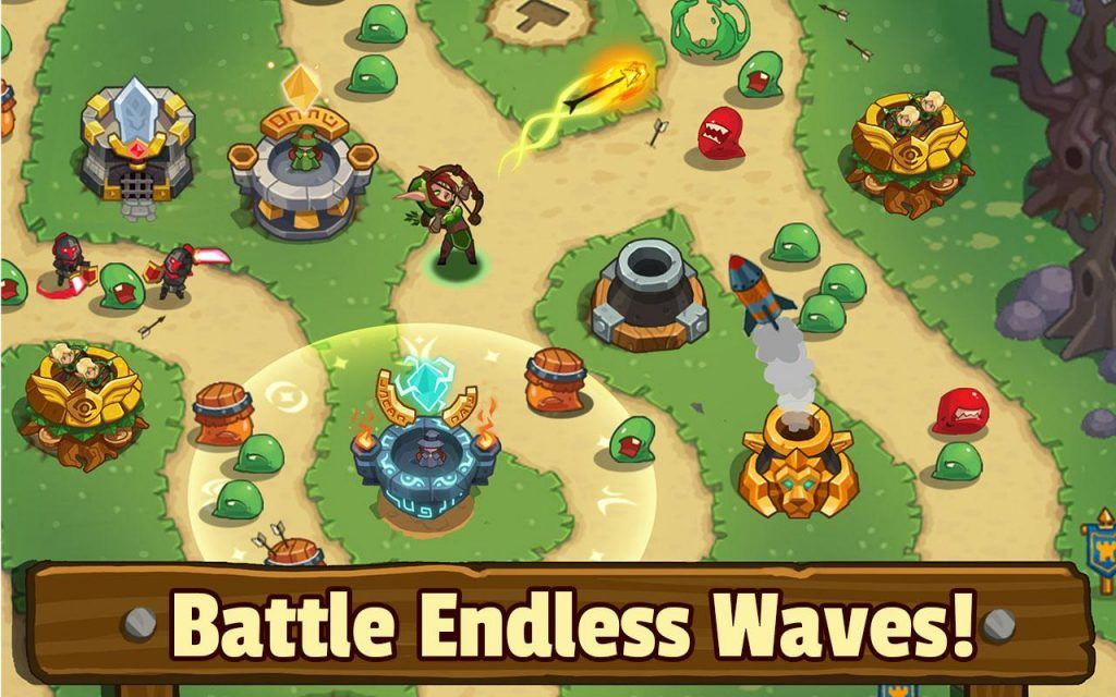 Screenshot of Tower Defense: Legends TD