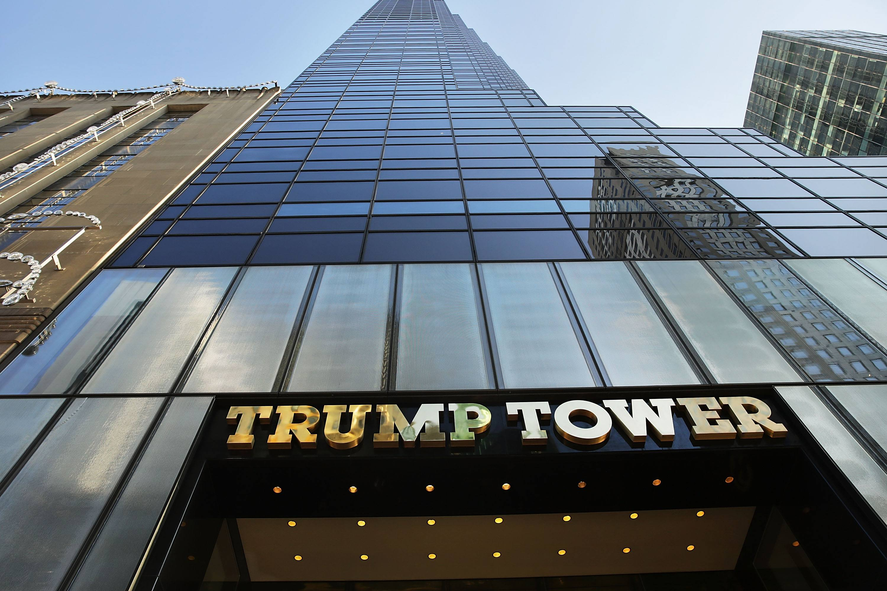 The Trump Tower in Midtown Manhattan