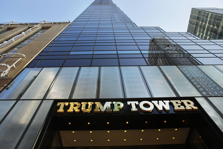 The Trump Tower in Midtown Manhattan