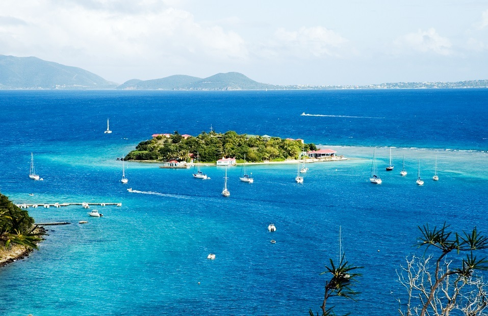 Marina Cay and Virgin Gorda, British Virgin Islands