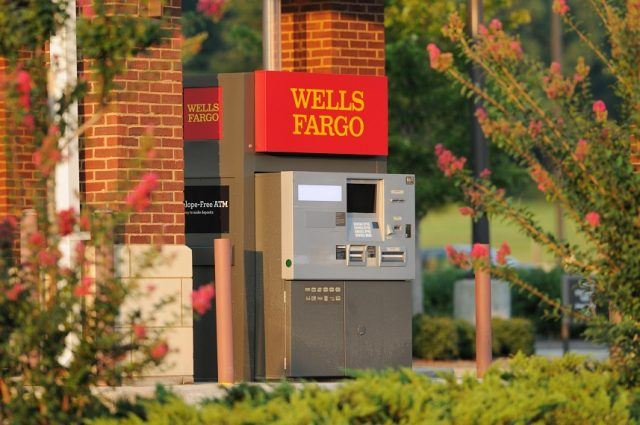 Wells Fargo ATM located at bank