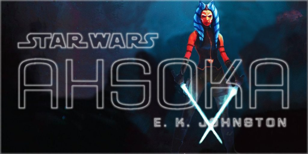 Ahsoka novel cover art