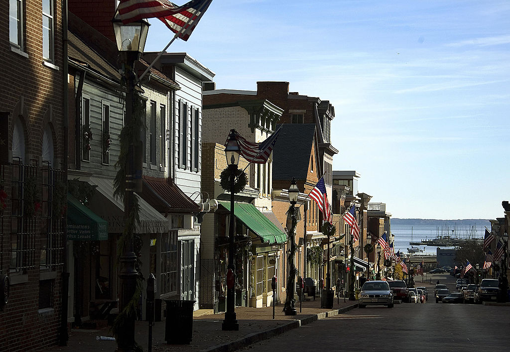 Main Street in Annapolis, Maryland
