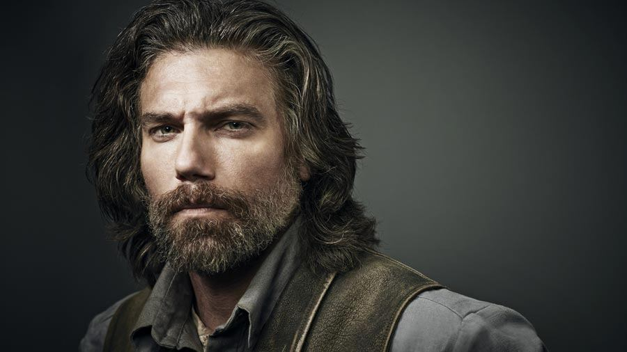 Anson Mount in AMC's Hell on Wheels