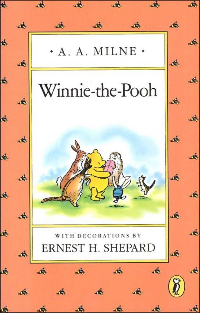 Winnie the Pooh book cover