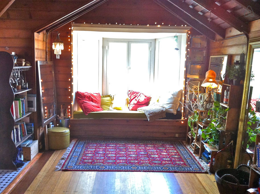 Charlie Chaplin's cabin