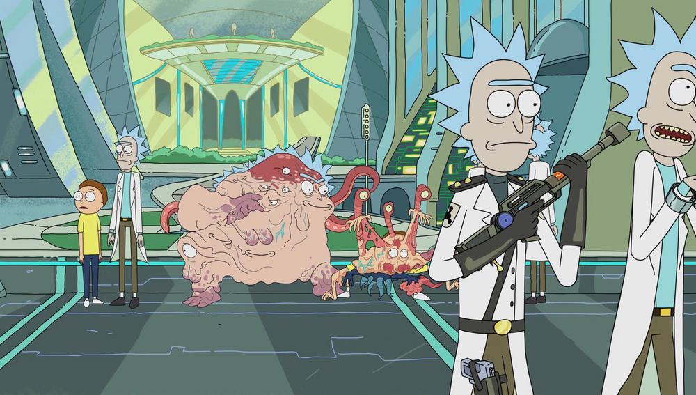 Cronenberg Rick and Cronenberg Morty