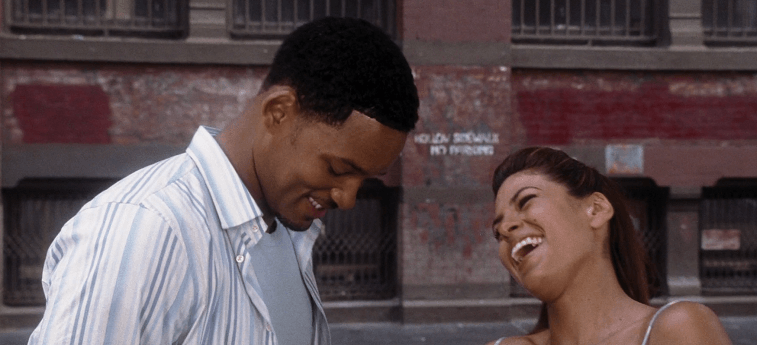 Will Smith and Eva Mendes in Hitch