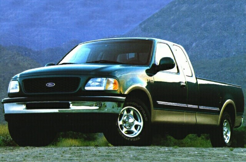 25 snapshots of the ford f 150 through history. Black Bedroom Furniture Sets. Home Design Ideas