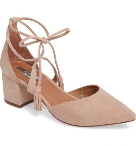 Halogen Iris Lace-Up d'Orsay Pump
