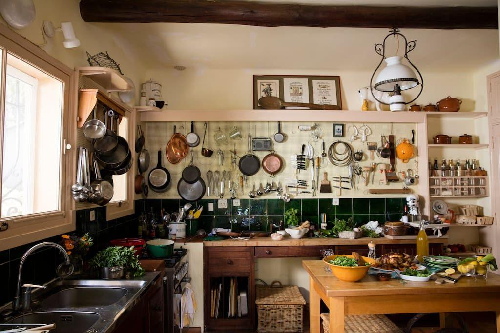 Julia Child's French cottage