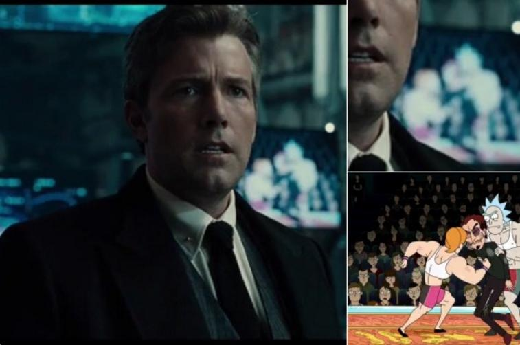 Rick and Morty in the Justice League trailer