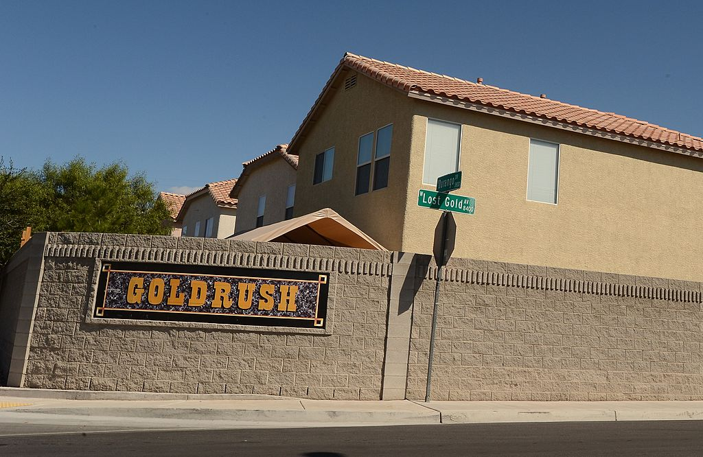 A residential neighborhood in Las Vegas