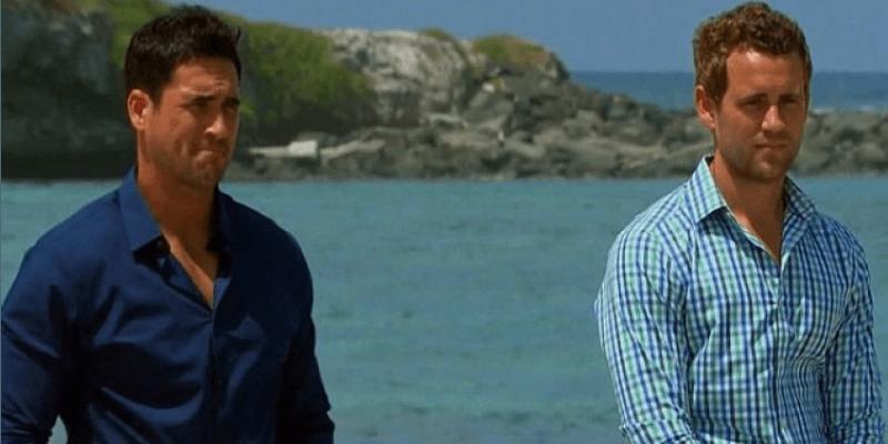 Nick Viall and Josh Murray on The Bachelorette