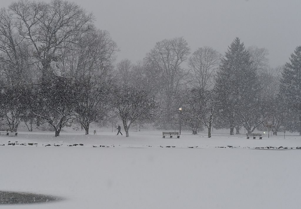 snowy day in connecticut
